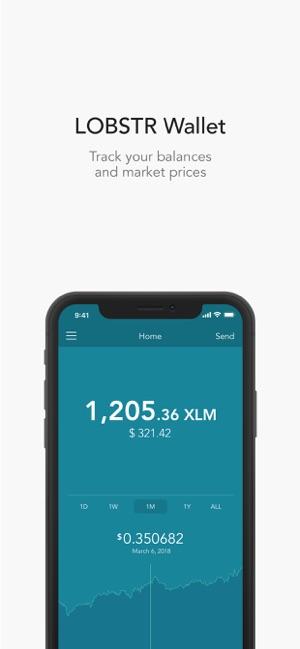 LOBSTR Stellar Wallet on the App Store