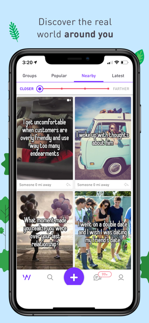 ‎Whisper - Share, Express, Meet Screenshot