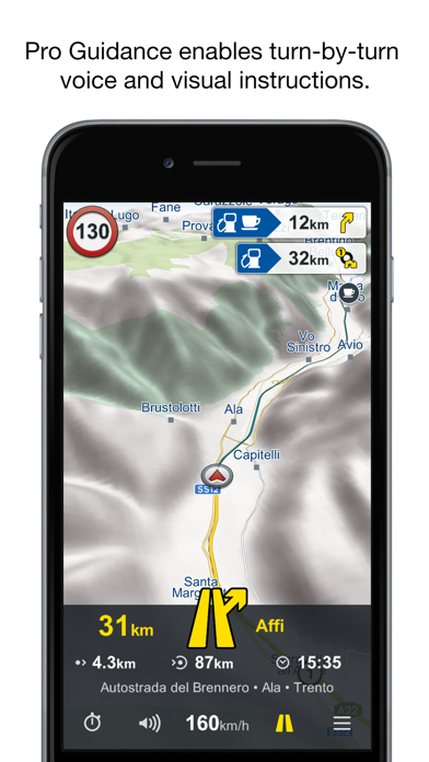 Genius Maps: GPS Navigation Screenshot