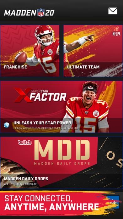 Madden NFL 20 Companion Screenshot