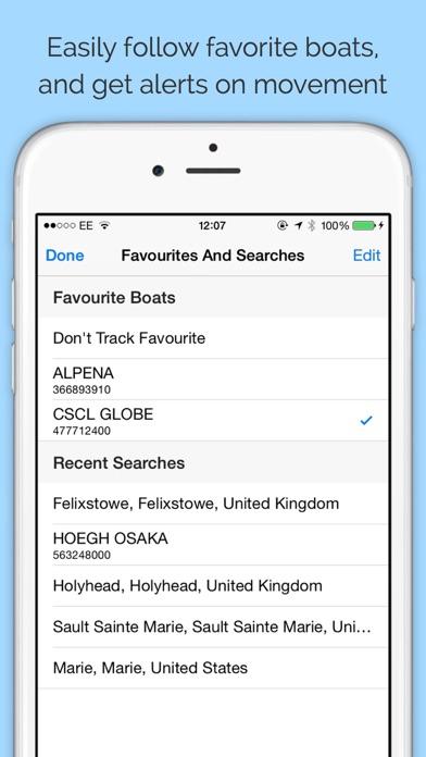 Boat Watch - Ship Tracking Screenshot