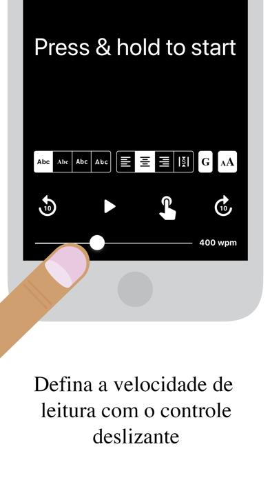 Spdr - Speed Reading Screenshot