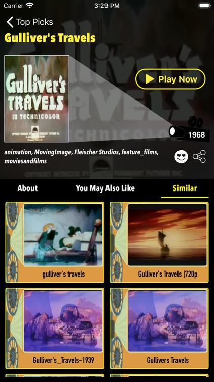 Retro Cinema-Classic Movie Box screenshot-7