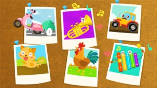 なんの音だ?ーBabyBus 動物の鳴き声・乗り物・楽器のおすすめ画像4
