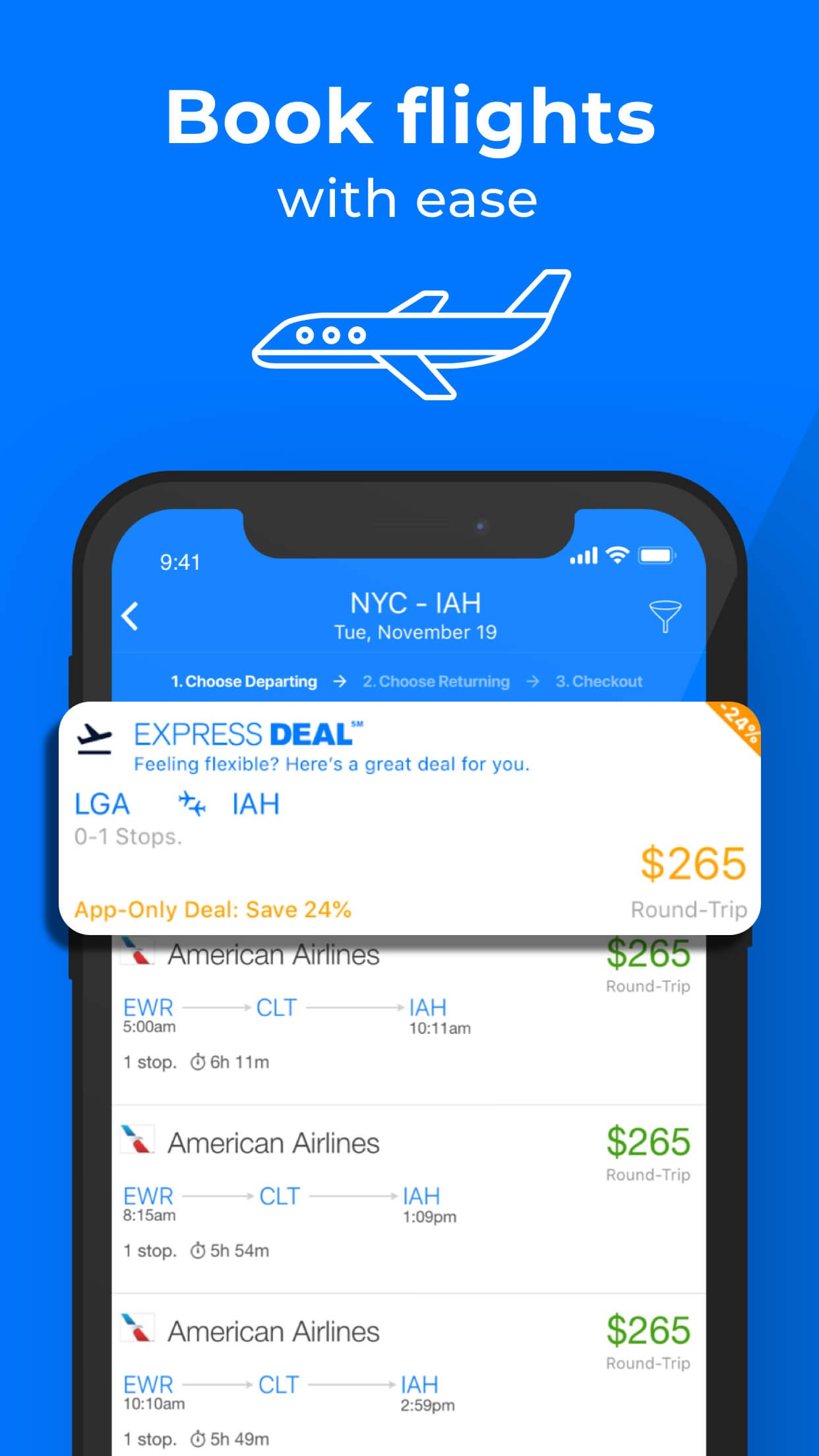 Priceline - Hotel, Flight, Car Screenshot