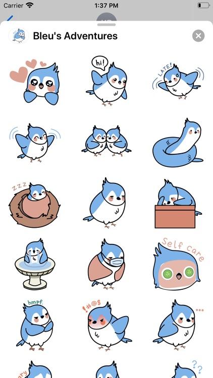 Bleu's Adventures