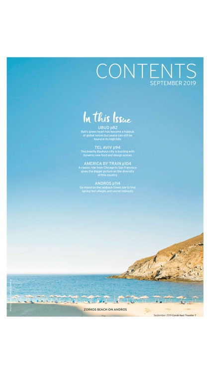 Condé Nast Traveller Magazine screenshot-1