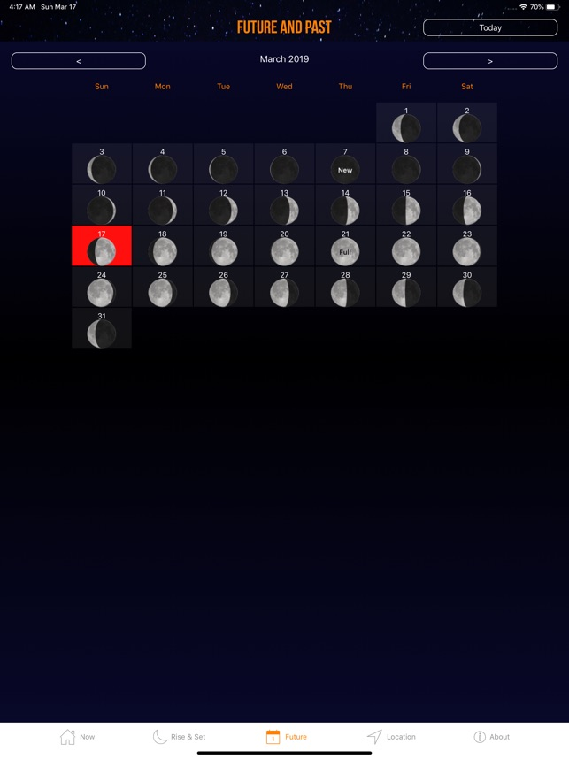 Moon Phase Calendar Plus on the App Store