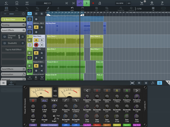 Visual EQ Console AUv3 Plugin screenshot 6