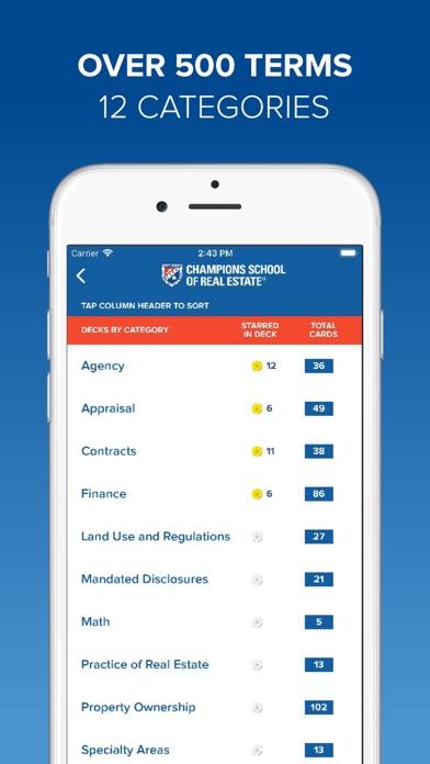 Screenshot for TX Real Estate Exam Flashcards in Australia App Store
