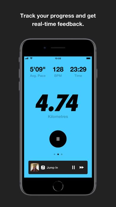 Nike Run Club screenshot two