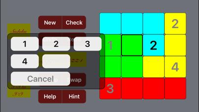 Logi5Puzz+ 3x3 to 16x16 Sudokuのおすすめ画像10