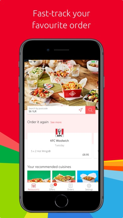 Just Eat - Food Delivery screenshot one