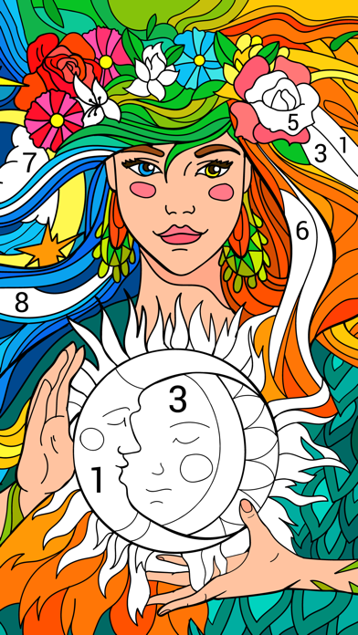 Happy Color™ – Color by Number for windows pc