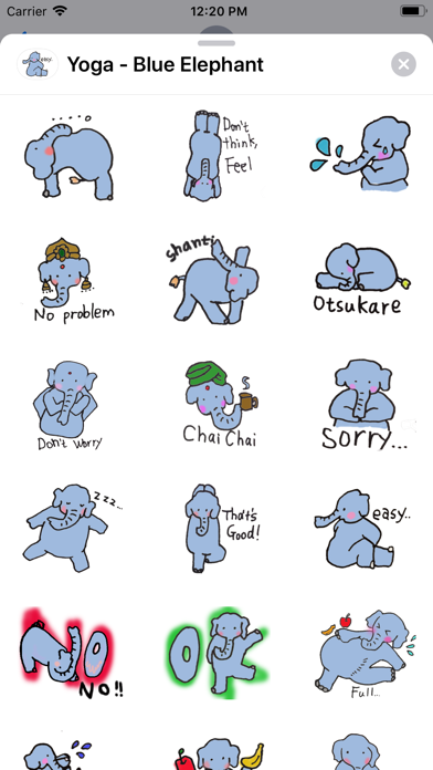 Yoga - Blue Elephant screenshot 2