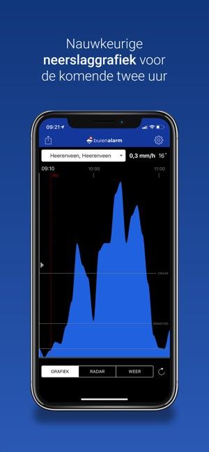 Buienalarm in de App Store