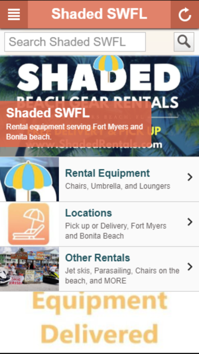 Screenshot for Shaded SWFL in United States App Store