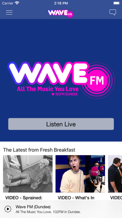 Wave FM screenshot one