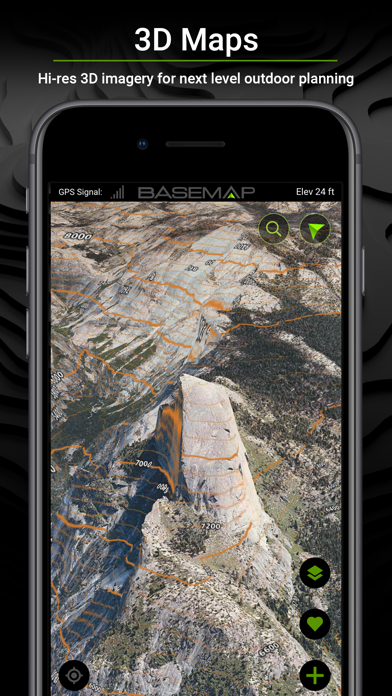 BaseMap: 3D Hunting GPS Maps Screenshot