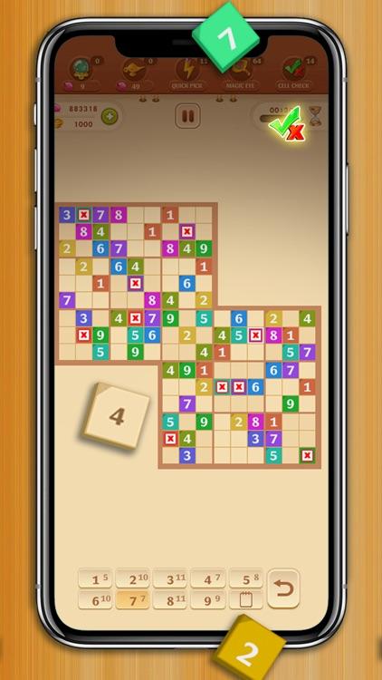 Sudoku Quest Color Soduku Game screenshot-9