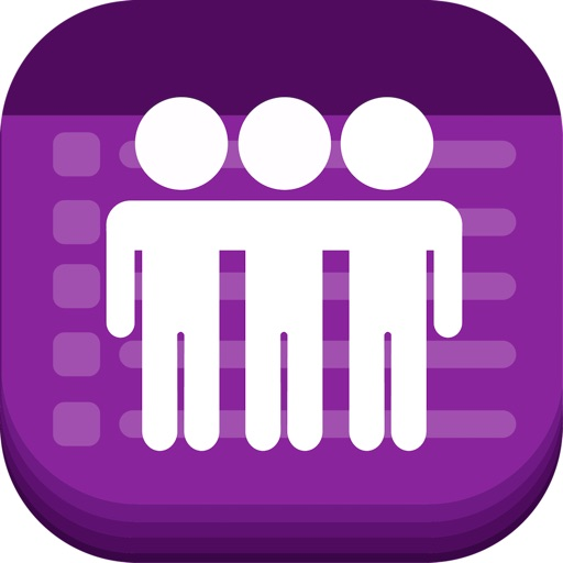 Text Invite Maker: PurpleSlate
