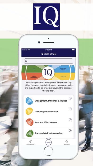 IQ Connect Screenshot