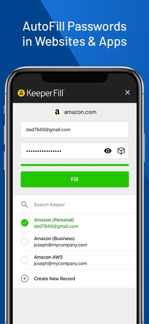 Keeper Password Manager on the App Store