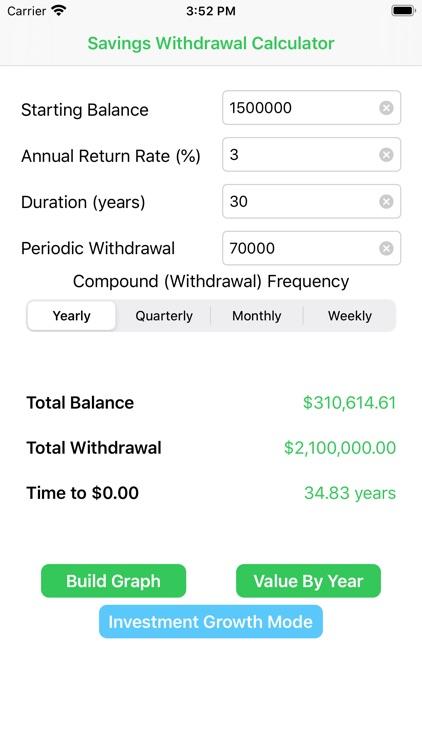 Compound Interest Calc screenshot-3