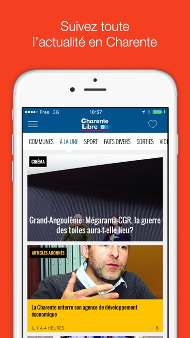 messages.download Charente Libre software