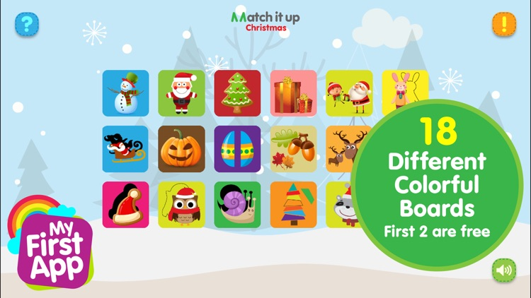 Match It Up - Christmas