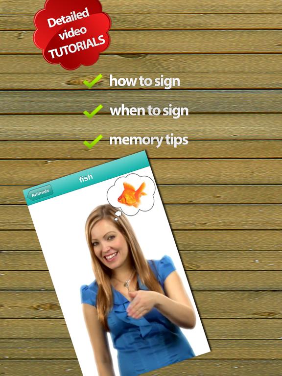 Baby Sign Language Dictionary - Lite Edition screenshot