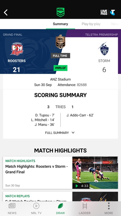NRL Official App screenshot-5