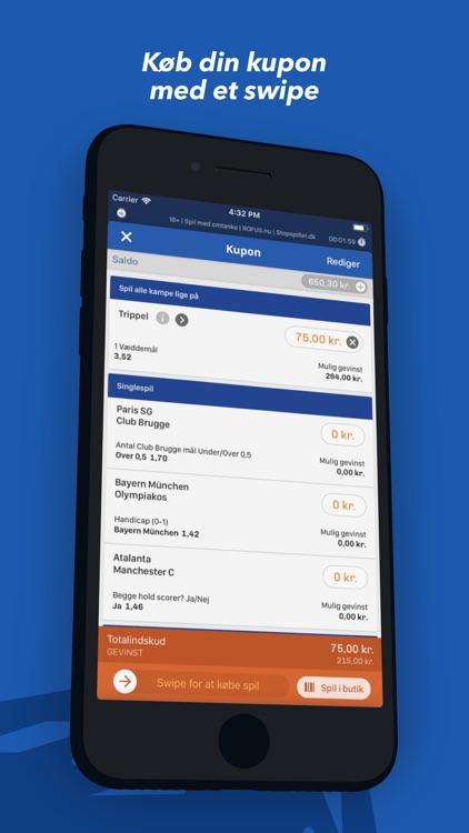 Oddset - betting på live sport screenshot-4