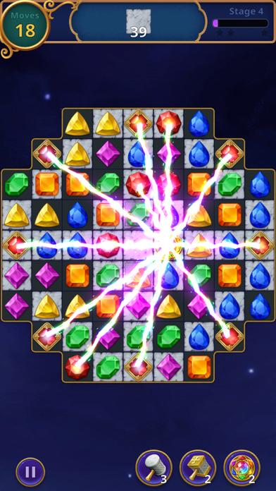 Jewels Magic: Mystery Match3 screenshot 2