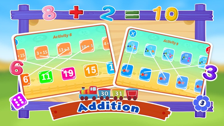 Learn Basic Math Number Match screenshot-3