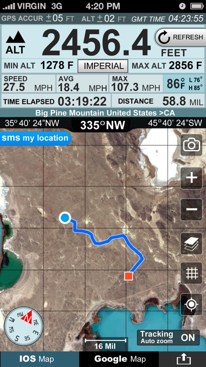 Altimeter GPS+ (Speedometer) screenshot-0