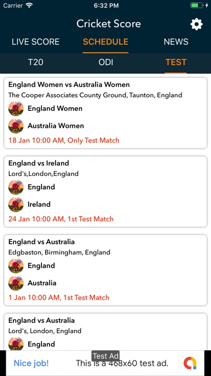 Live Cricket Score Detail News screenshot-4