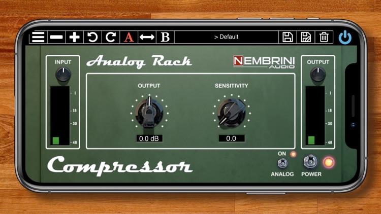 Analog Rack Compressor