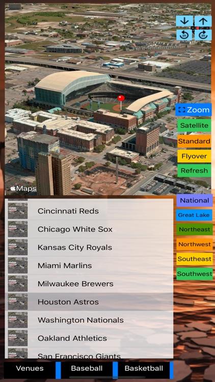 Sport Stadiums Pro - 3D Cities screenshot-4