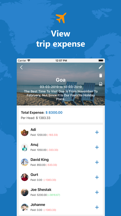 Travel Expense Dairy | From Denisha Vadukia | Mobile apps store