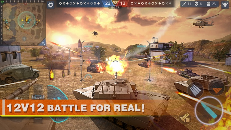 Clash of Panzer screenshot-0