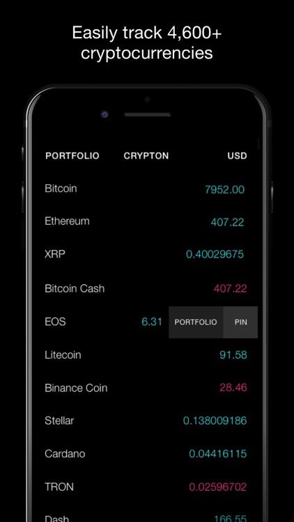 Crypton, Crypto Market Tracker screenshot-0