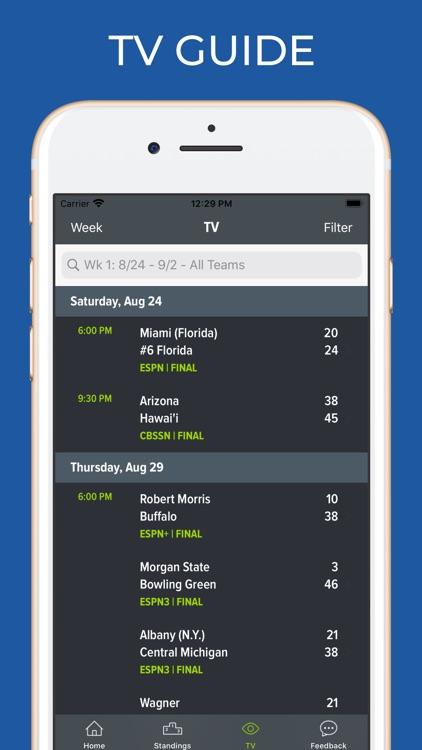 Nevada Football Schedules screenshot-6