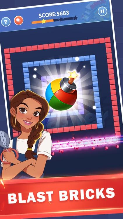 Brick Blaster - Ball Game screenshot-3