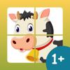 Mini Farm Puzzles. Fun kids 1+
