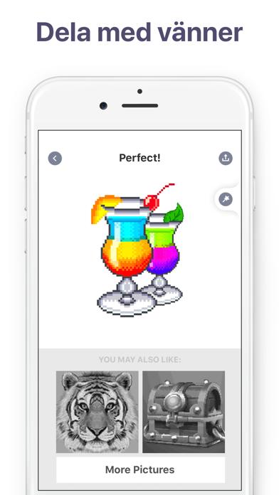 Pixel Art - Målarbok för vuxna på PC