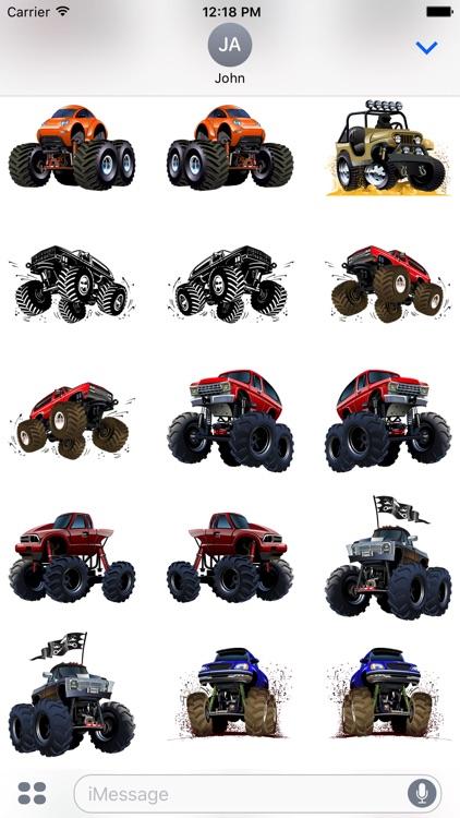 Badass Truck Sticker Pack