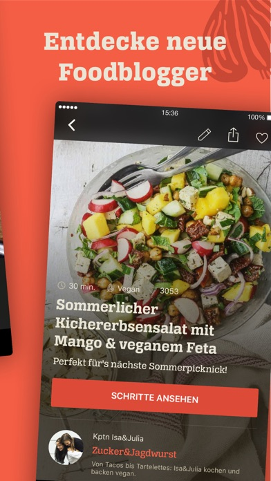 Screenshot for KptnCook Rezepte & Kochen in Germany App Store