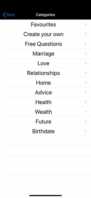 White Magic Fortune Teller on the App Store