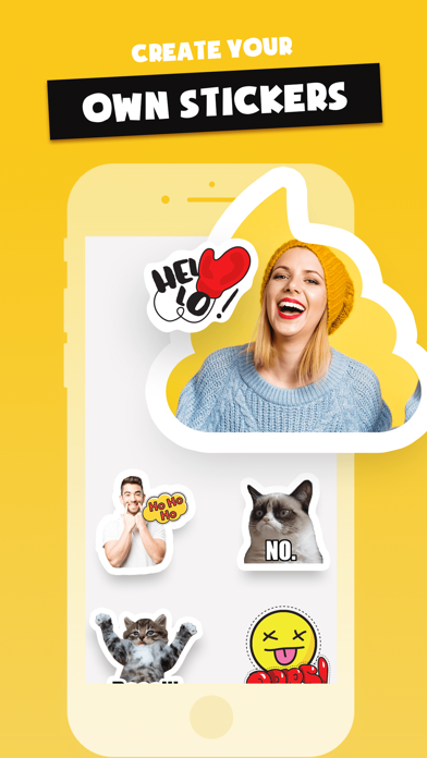 Stickers Funny of Meme & Emoji screenshot 1